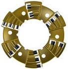 Nowe typy koronek z płytką diamentową PDC