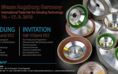 GrindTec-International Trade Fair for Grinding Technolog – 14-17.03.2018